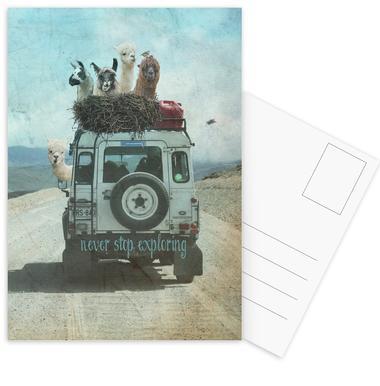 Never Stop Exploring II Postcard Set