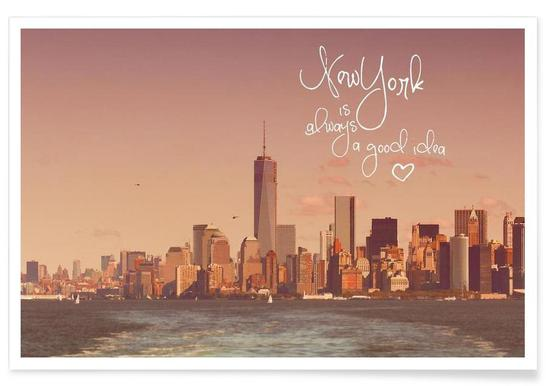 New York Is Always a Good Idea affiche