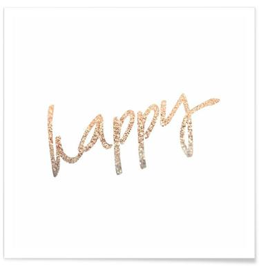 Gold Happy -Poster