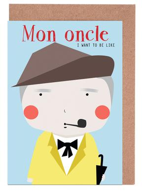 Little Mon Oncle Greeting Card Set