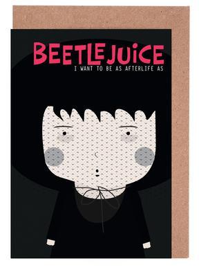 Little Beetlejuice wenskaartenset