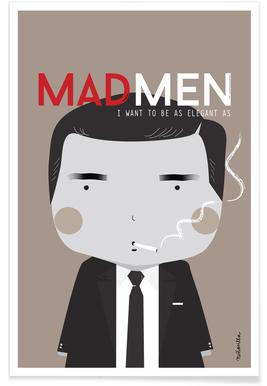 Little Mad Men Poster