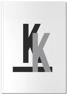 CMYK-K Notebook