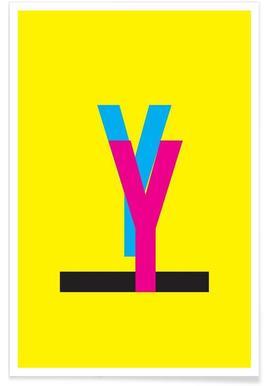 CMYK-Y Poster
