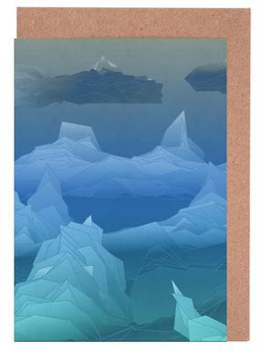 Antarctica -Grußkarten-Set