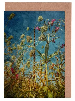 Heat Flowers Greeting Card Set