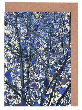 Blue November -Grußkarten-Set
