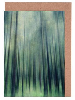 Green Woods Ascent -Grußkarten-Set