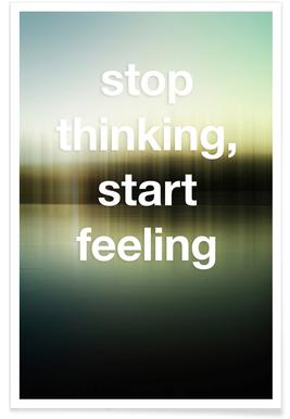 Stop Thinking poster