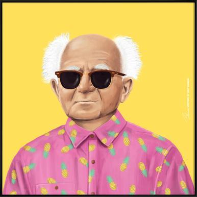 Ben Gurion Framed Poster