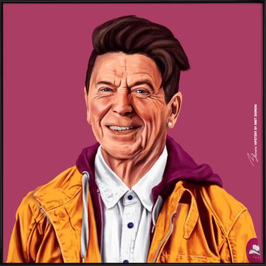 Reagan Framed Poster