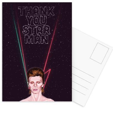 Bowie -Postkartenset