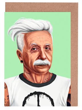 Einstein wenskaartenset