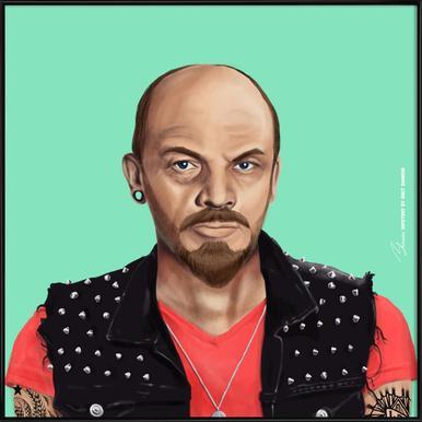 Lenin Framed Poster
