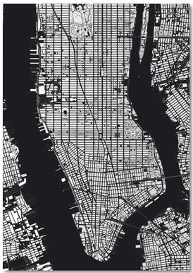 New York Black & White Notebook