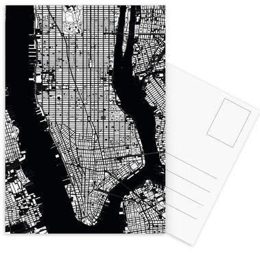 New York Black & White ansichtkaartenset