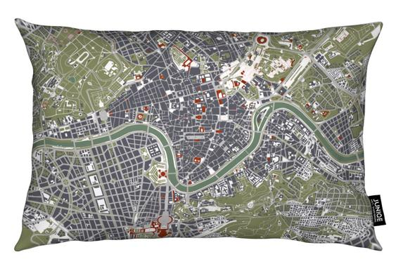 Rome Engraving coussin