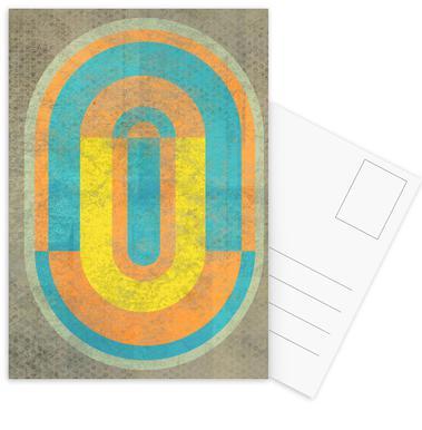 Keyhole Postcard Set