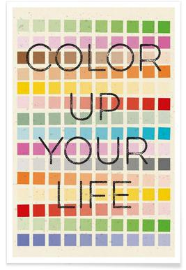 Color up your life Poster