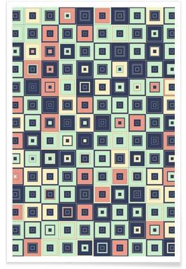 Lostin Squares I Poster