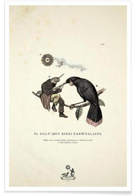 The kind narwhalians Poster