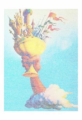 The Holy Grail acrylglas print