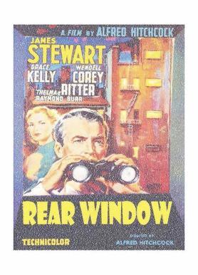 Rear Window -Leinwandbild