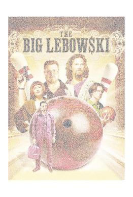 The Big Lebowski Aluminium Print