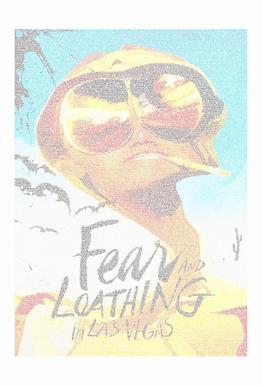 Fear and Loathing in Las Vegas -Acrylglasbild