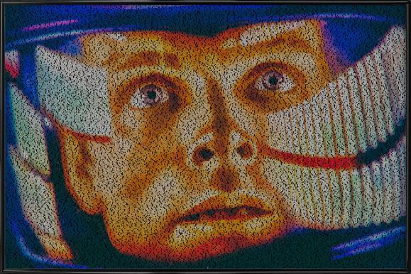 Dave II -Bild mit Kunststoffrahmen