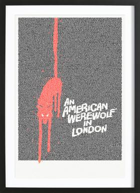 An American Werewolf In London Framed Print
