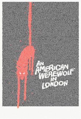 An American Werewolf In London -Acrylglasbild