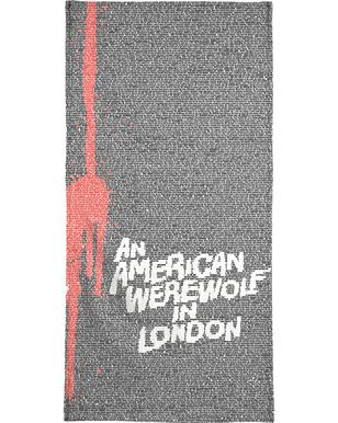An American Werewolf In London -Handtuch