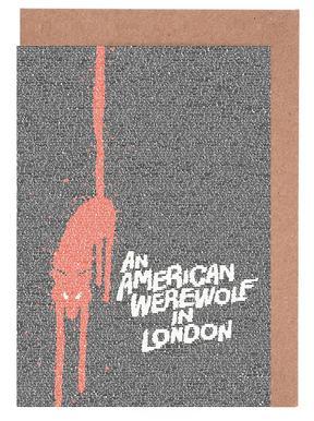 An American Werewolf In London -Grußkarten-Set