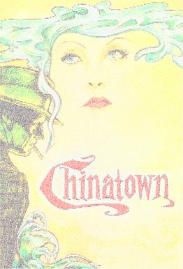 Chinatown Aluminium Print