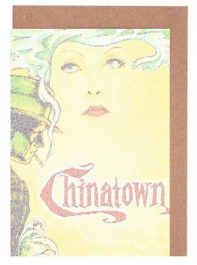 Chinatown -Grußkarten-Set