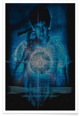 Donnie Darko-Pointillismus -Poster