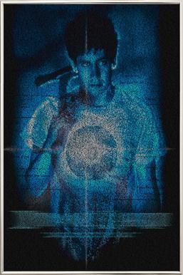 Donnie Darko -Poster im Alurahmen