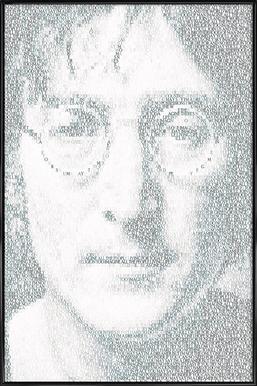 Imagine -Bild mit Kunststoffrahmen