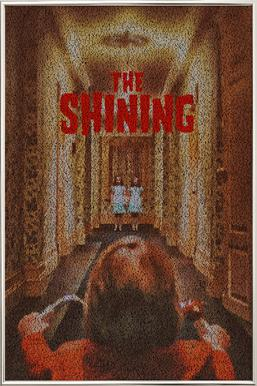 The Shining Poster in Aluminium Frame