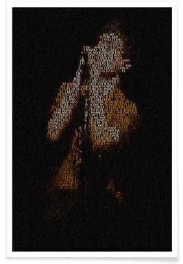 Joy Division-Pointillismus -Poster