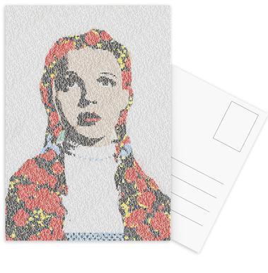 Dorothy -Postkartenset