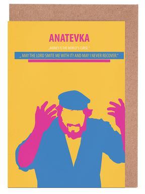 Anatevka II cartes de vœux