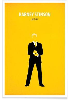 Barney Stinson -Poster