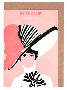 My fair Lady Greeting Card Set