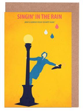 Singin' in the Rain Greeting Card Set