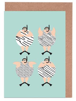 Swimming Snorklers