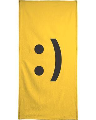 Smiley handdoek