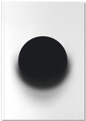 Fading Circle Notebook