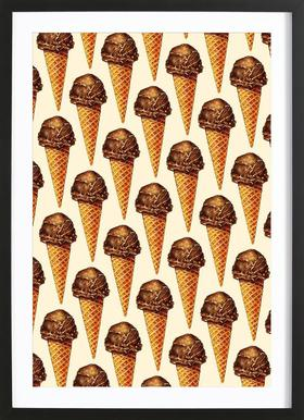 Chocolate Scoop Pattern
